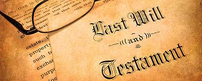- testament - Les différentes formes de testaments