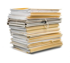 Pile de documents Bitouah Leumi